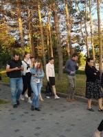 """Лекция """"Прогулка с лимфоцитами"""", организованная Информационным центром по атомной энергии Новосибирска 10.07.2019"""