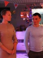 "Анна Дружкова в баре ""Со.mein"""