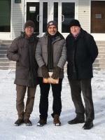 Итальянцы в России. G Cenci, F Di Cunto, M Gatti (слева направо)