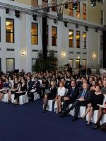"""VII ежегодная церемония награждения стипендиатов российской программы L'Oreal-Unesco """"Для женщин в науке"""" в Hotel Baltschug Kempinski Moscow 12 ноября 2013 г."""