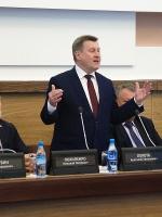 Вручение премии мэрии Новосибирска в сфере науки и инноваций за 2018 год. 17.05.2018