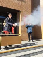 Учебная пожарная тревога 08.04.2019