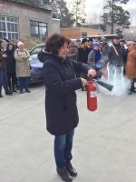 Учебная пожарная тревога 18.04.2018